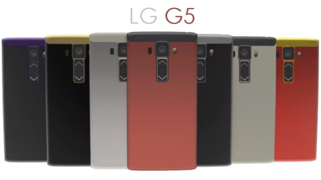 LG G5: 4 GB di RAM, cam frontale da 10 MP e batteria al top - RUMORS