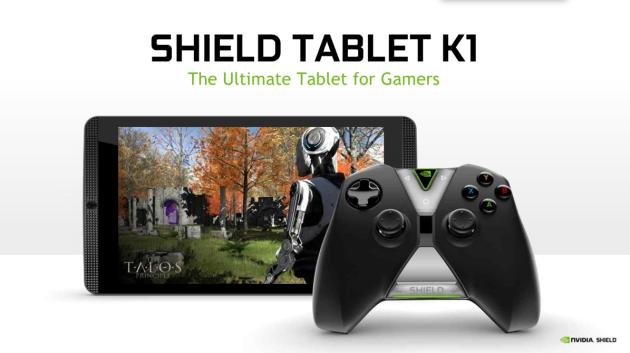 Nvidia Shield Tablet K1: in arrivo un nuovo aggiornamento firmware