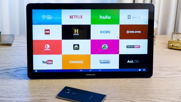 Samsung Galaxy View si mostra in un video hands-on