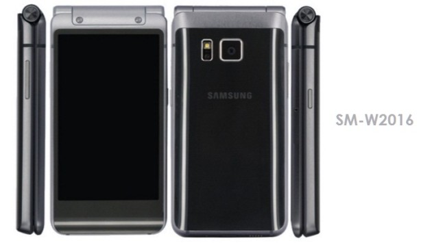 Samsung: un nuovo flip phone simile a Galaxy S6 e Note 5 - FOTO LEAKED