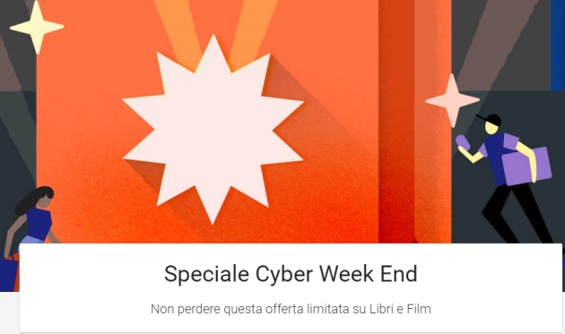 Black Friday, le offerte di Play Store: libri e film scontati fino al 70%