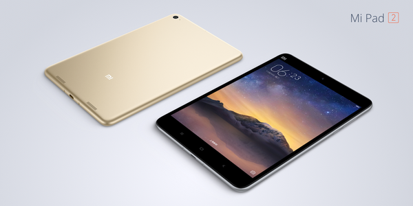 Xiaomi Mi Pad 2 ufficiale: Quad HD, USB Type C, 6190 mAh in 6,95 mm da 148 euro