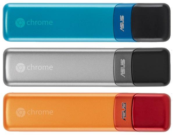 Da ASUS e Google arriva Chromebit, dongle da 85$ con ChromeOS