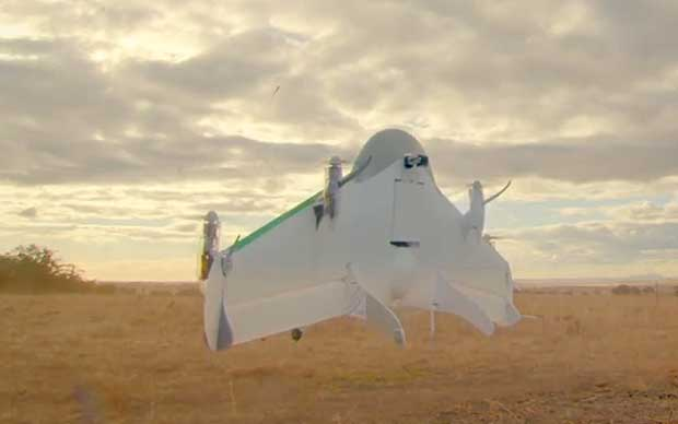 Google Project Wing: dal 2017 le consegne con i droni