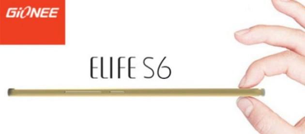 Annunciato Gionee Elife S6: 3 GB di Ram, 5.5 pollici HD e MediaTek MT6753 a 249€