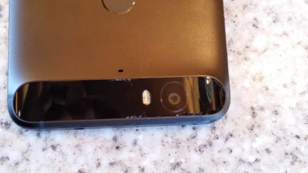 Huawei Nexus 6P: riscontrati alcuni problemi con le componenti in vetro