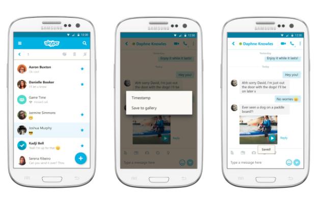 Skype si aggiorna e permette di salvare i videomessaggi