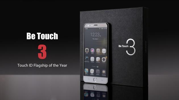 Be Touch 3 sarà il primo flagship di Ulefone dotato di scanner fingerprint frontale