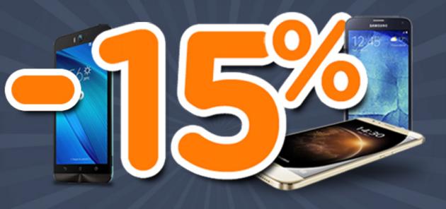 Unieuro, sconto del 15% su smartphone, smartwatch e accessori solo per oggi