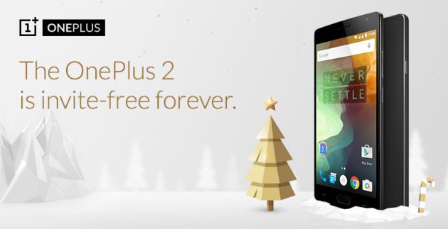 OnePlus 2 acquistabile senza invito dal 5 Dicembre