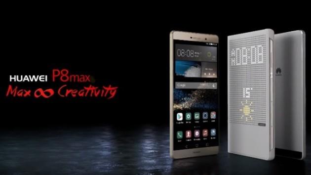 Huawei P8 Max arriva in Italia a 649€