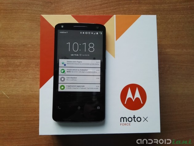 Motorola Moto X Force: La Recensione