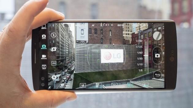 LG V10: condivisione di foto senza aprire la galleria