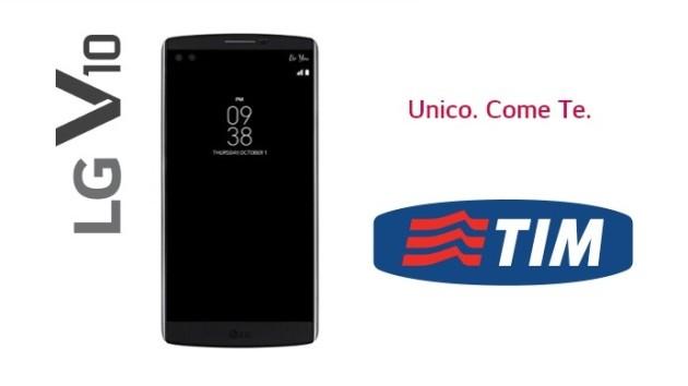 LG V10: disponibile anche in abbonamento con TIM