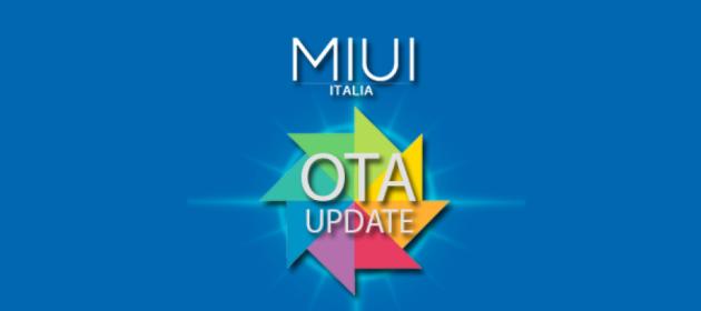 MIUI Italia introduce gli aggiornamenti OTA per la sua ROM