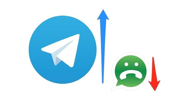 Quando WhatsApp non c'è, Telegram balla (e cresce)