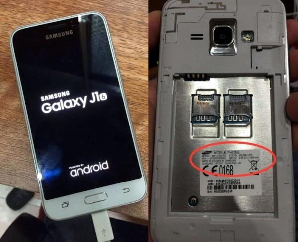 Samsung Galaxy J1 2016 scovato online: schermo da 4.5'' e 4G
