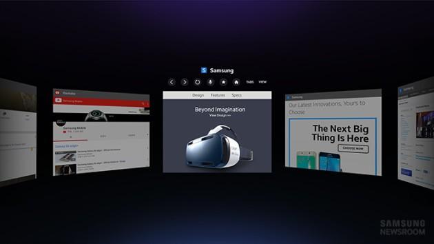Samsung: annunciato il primo browser per la realtà virtuale