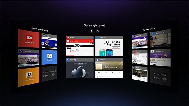 Samsung annunciato il primo browser per la realtà virtuale