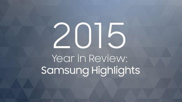 Samsung: il 2015 è tutto in un'immagine