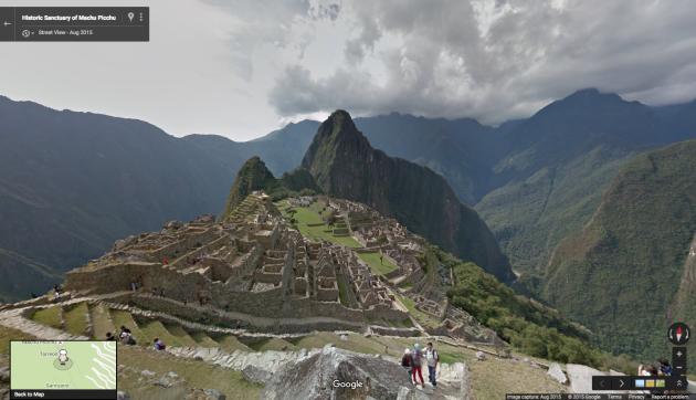 Visitate le rovine di Machu Picchu con Google Street View
