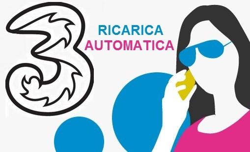 Tre Italia presenta la nuova Ricarica Automatica