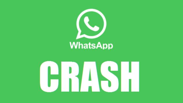 WhatsApp: le emoticon mandano in crash l'applicazione