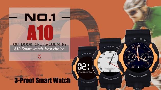 Ecco A10, il nuovo smartwatch rugged di NO.1