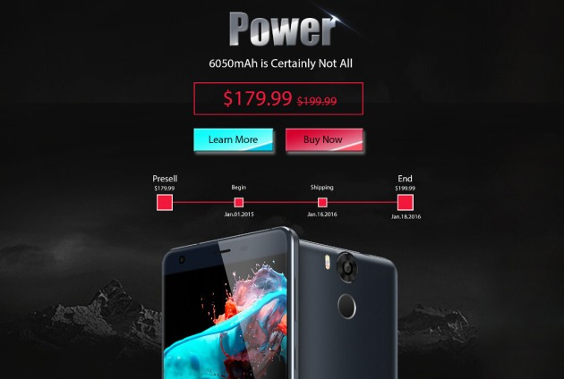 [Sponsored] Ulefone Power: ecco i primi sconti dell'anno