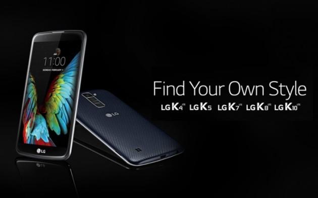 LG svela gli altri smartphone della nuova gamma K