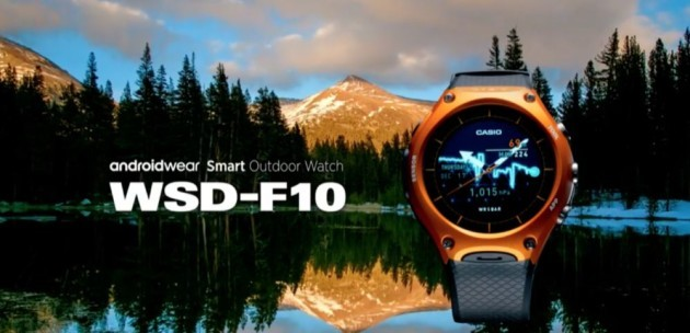 Casio WSD-F10: nuovo smart outdoor watch con Android Wear