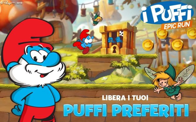 I Puffi Epic Run: arriva su Android un nuovo titolo Ubisoft