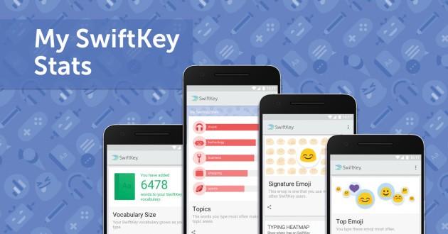 SwiftKey Beta riceve un nuovo aggiornamento e introduce le statistiche
