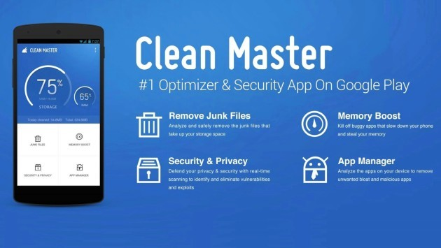 Clean Master è l'applicazione Android più usata a fine 2015 – Drawbridge