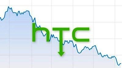 HTC in caduta libera: vendite più basse del 35%