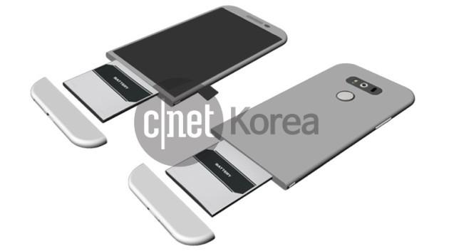 LG G5: design rinnovato e batteria estraibile dal basso - RUMORS
