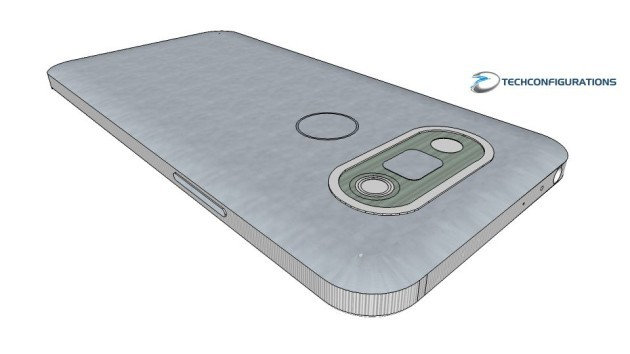 LG G5: nuovo render 3D per il top di gamma - VIDEO