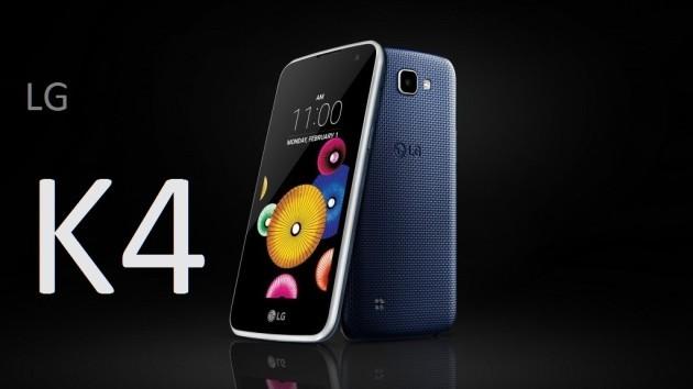 LG K4: in Italia a partire da questa settimana