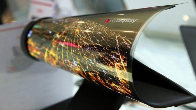 LG presenta un nuovo display OLED flessibile