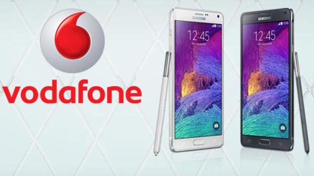 Note 4 (brand Vodafone): nuovo aggiornamento in arrivo