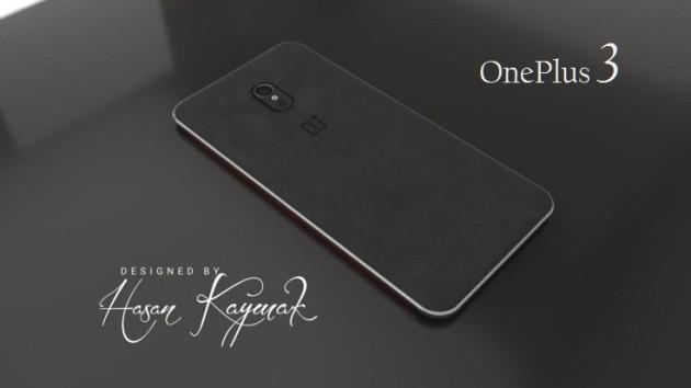OnePlus 3: nuovi render svelano una back cover