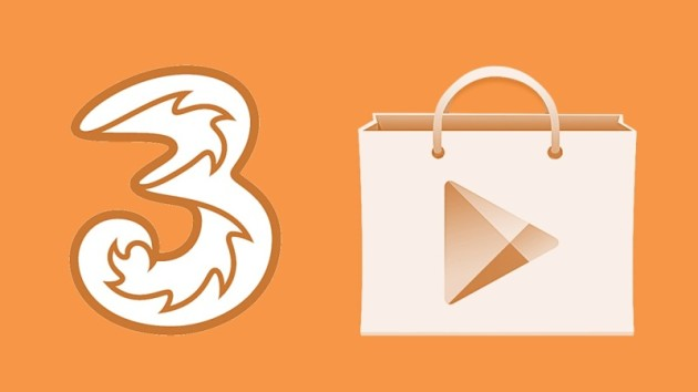 Play Store: Tre Italia consente di pagare con credito telefonico