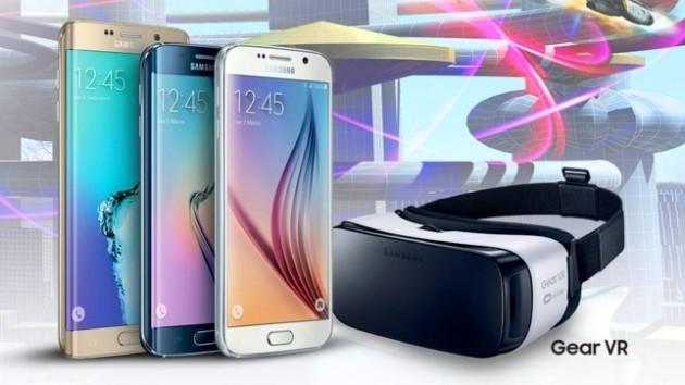 Samsung Gear VR in omaggio con la gamma Galaxy S6