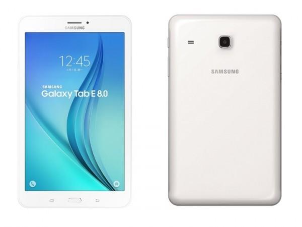 Samsung Galaxy Tab E 8.0 annunciato con batteria da 5000 mAh e connettività 4G LTE