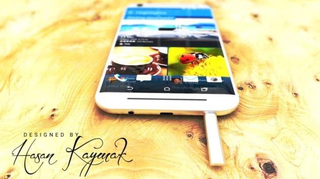 Vorreste un HTC One M10 in versione XL con stylus integrata?