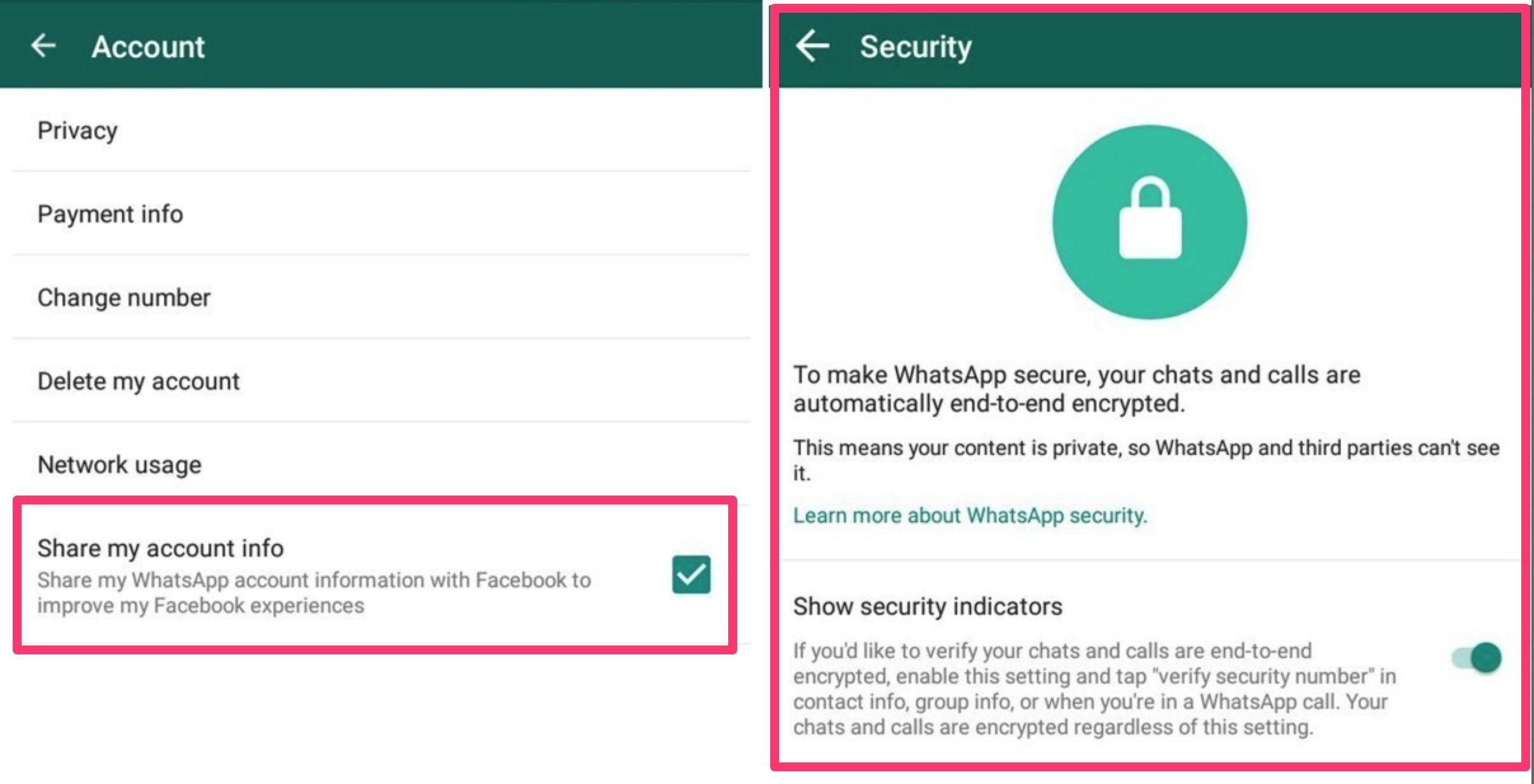 WhatsApp inizierà a condividere i dati con Facebook