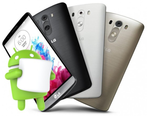 LG G3, aggiornamento a Marshmallow per i no-brand disponibile in Italia