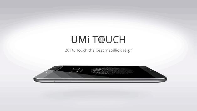 UMi Touch: quando lo smartphone incontra la proporzione aurea