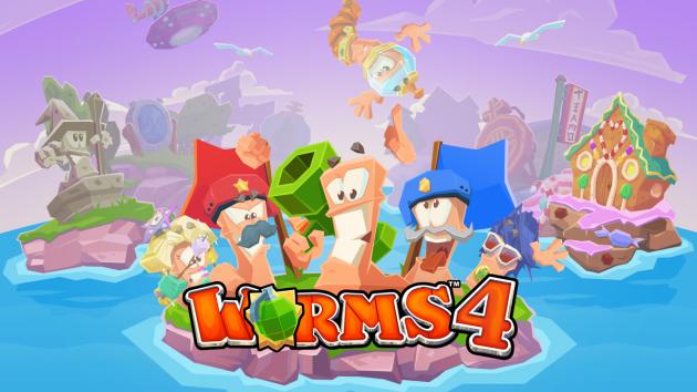 Worms 4, il nuovo capitolo di Team17 arriva su Android