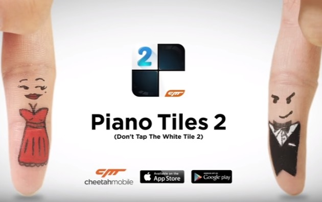 "Piano Tiles 2 riceve il titolo ""Best Game 2015"""